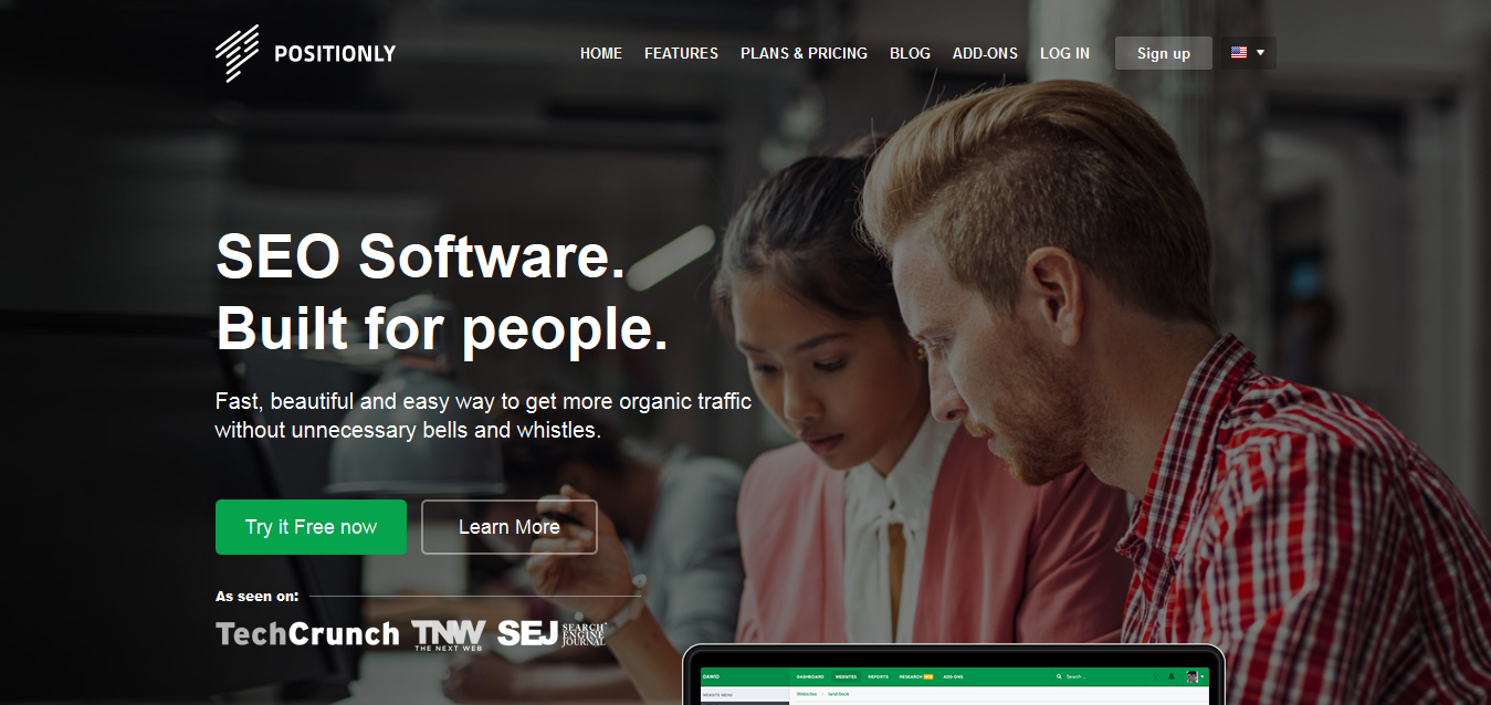 SEO Software - Positionly