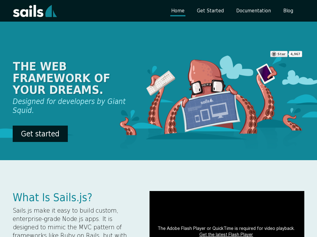 Sails.js - Realtime MVC Framework for Node.js
