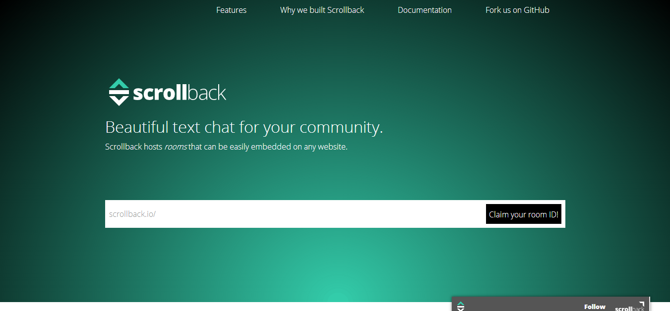 Scrollback beautiful micro forums for open communities.