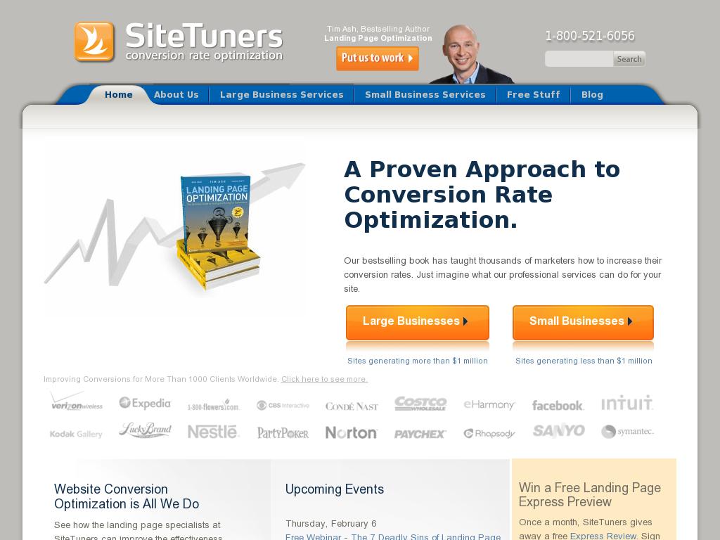 SiteTuners - Conversion Rate Optimization