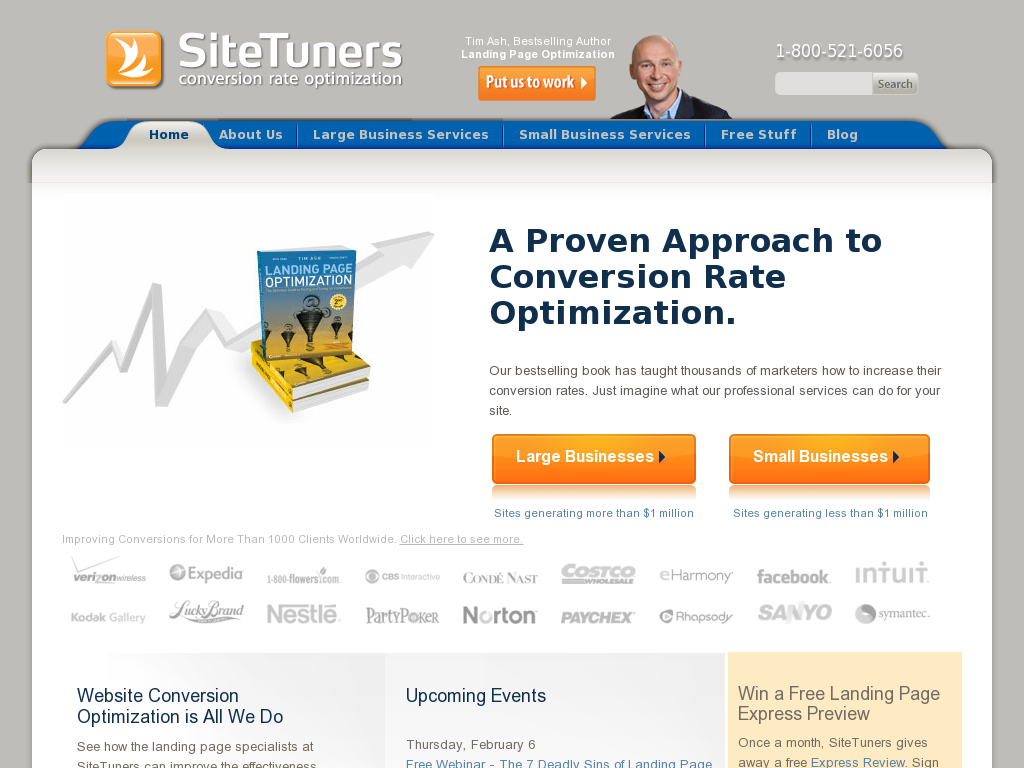 SiteTuners - Conversion Rate Optimization