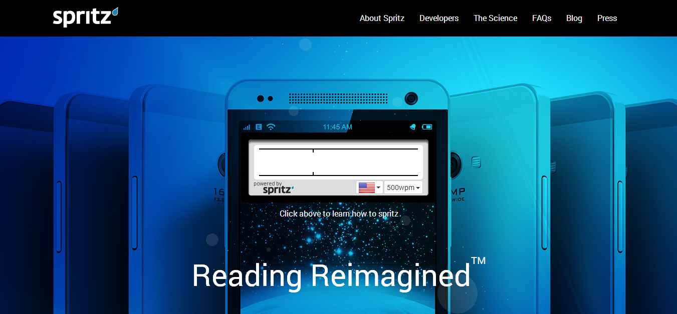 Spritz - Learn the Art of Speed Reading