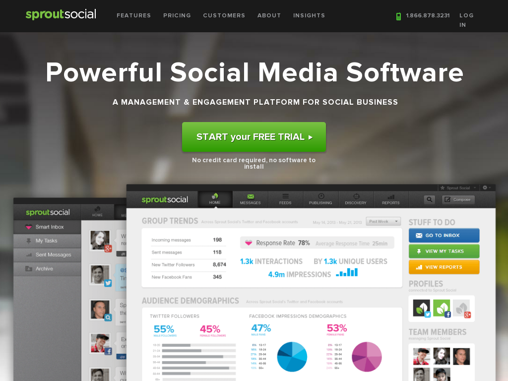 Sprout Social - Social Media Management Software for Business
