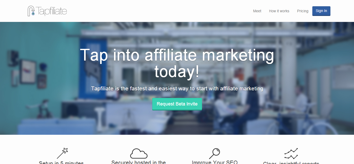 Tapfiliate - Build Your Own Affiliate Marketing Programs