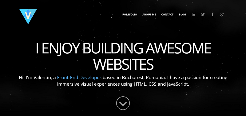 Valentin Radulescu - Front-End Developer