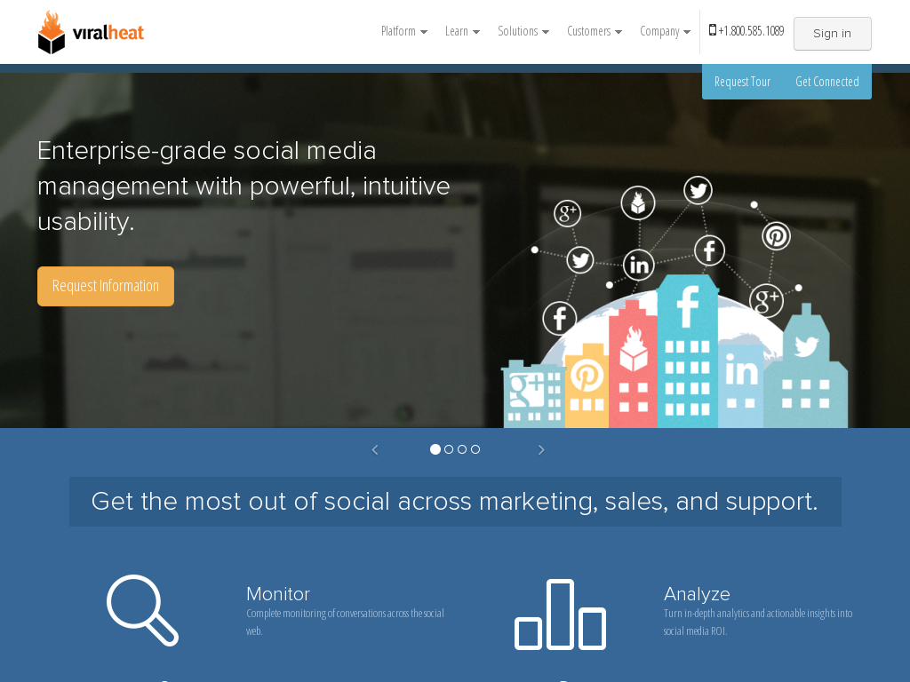 Viralheat - Social Media Managment