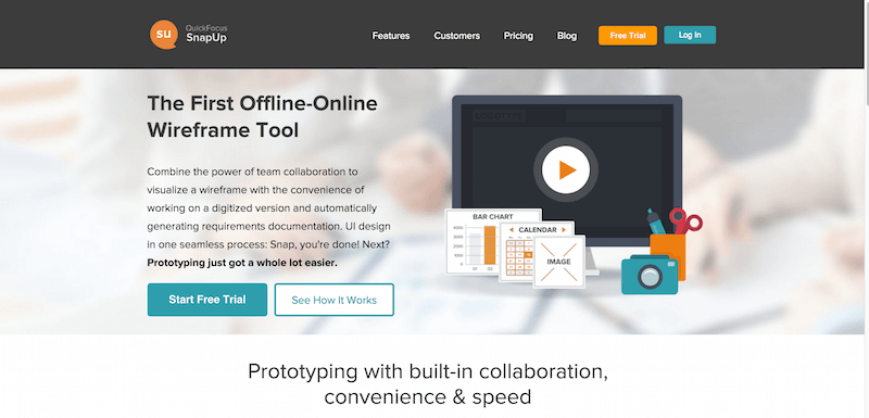 Wireframe Tools Online Free – Quick Focus – SnapUp