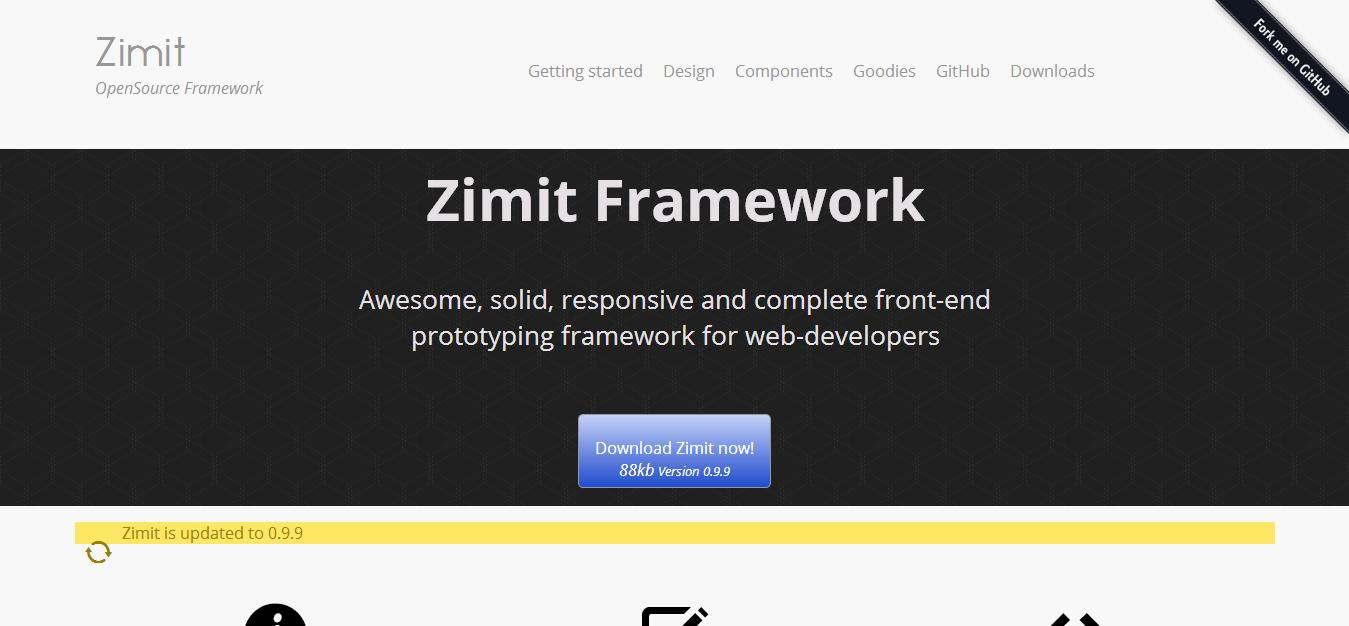 Zimit Framework - The consistent HTML5 framework