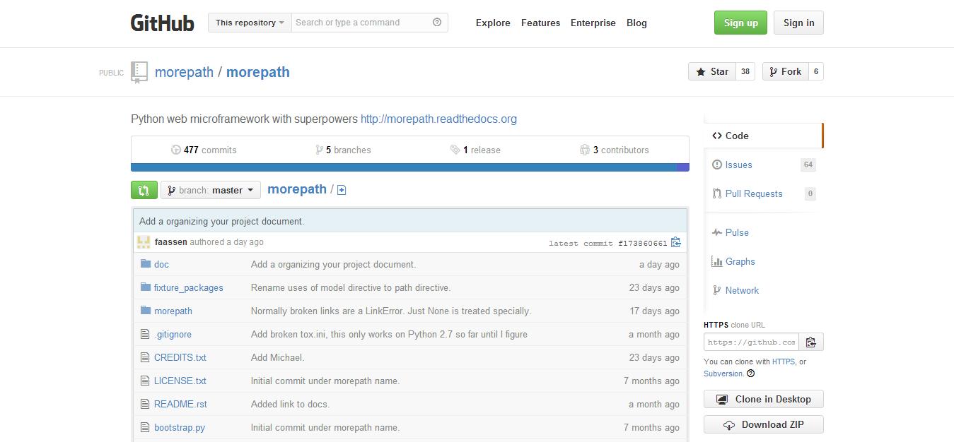 morepath morepath · GitHub