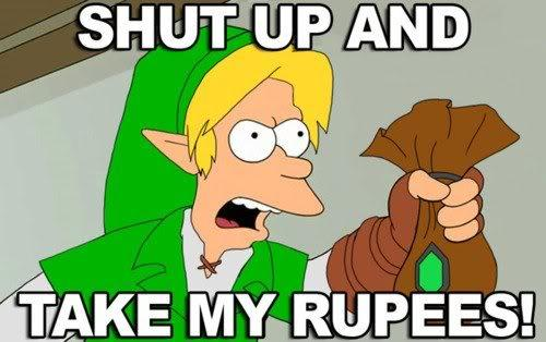 take my rupees