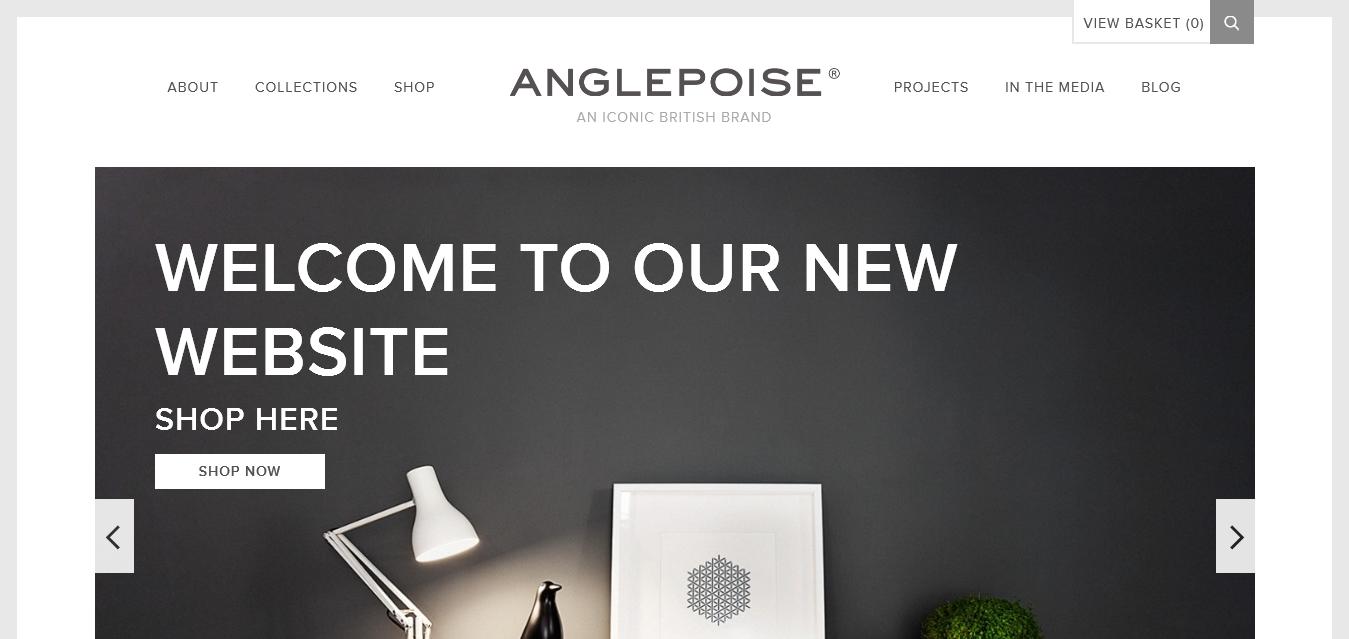 An iconic British brand I Anglepoise