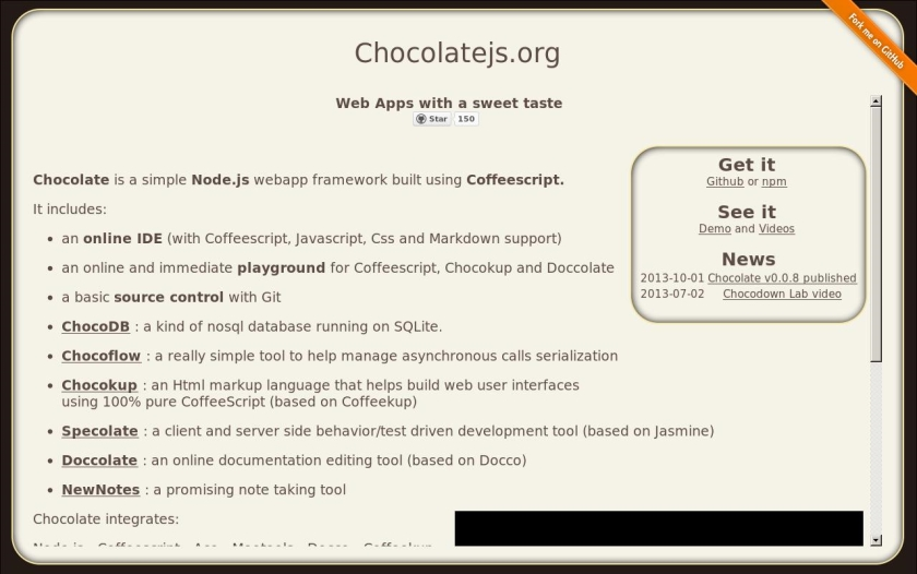 Chocolate.js