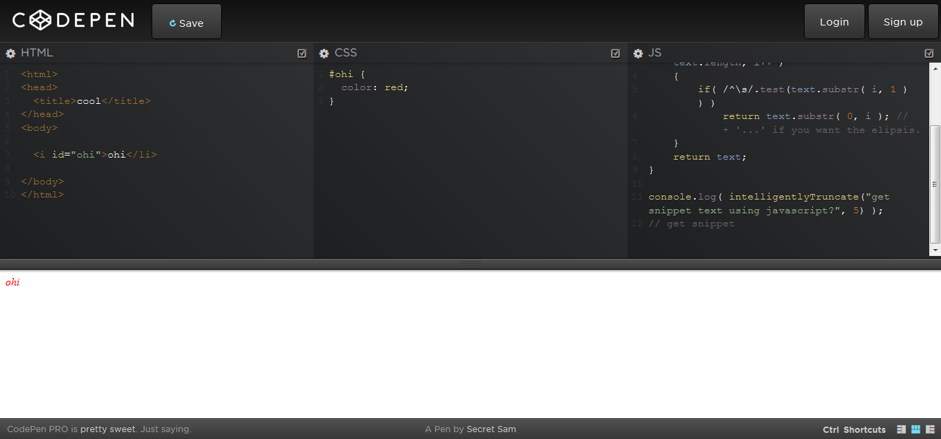 CodePen - Pen