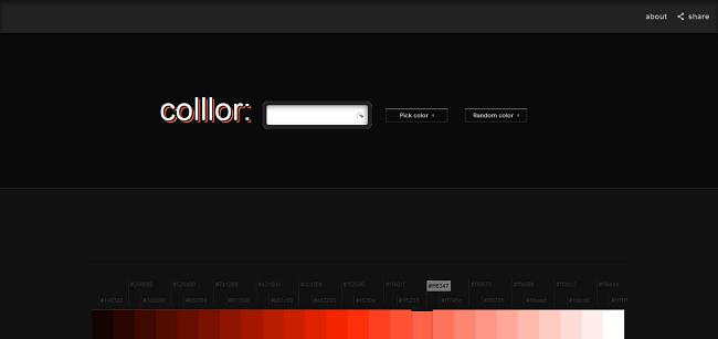 Color Palette Generator - Colllor