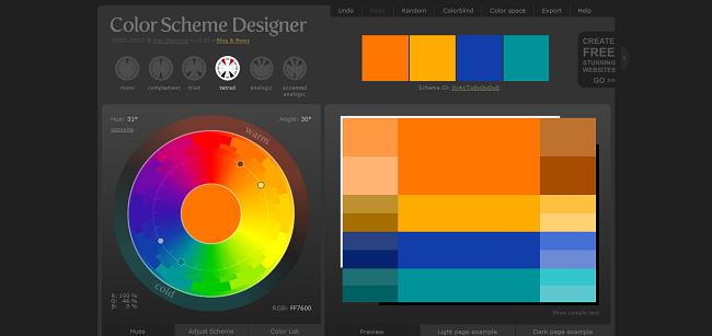 Color Scheme Designer 3