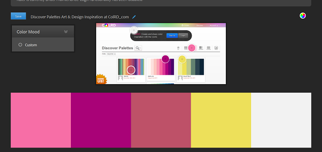 Color Schemes by Adobe Kuler