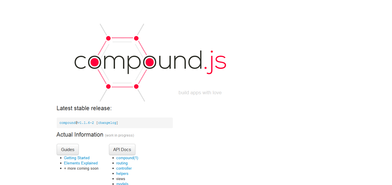 14 web application frameworks for nodejs compoundjs is built on top of express and is looking to be a promising framework for those who want to develop and accelerate their web applications baditri Images