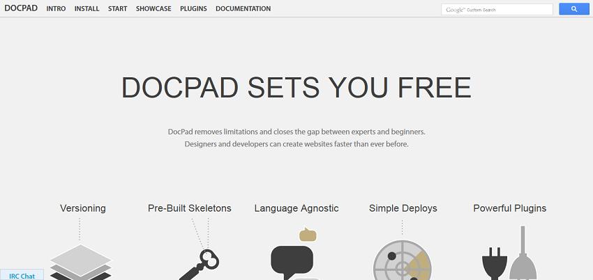DocPad - Streamlined Web Development