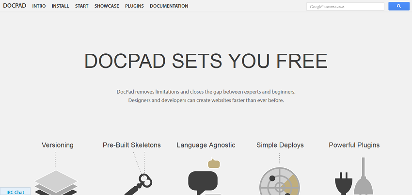 DocPad - Streamlined Web Development