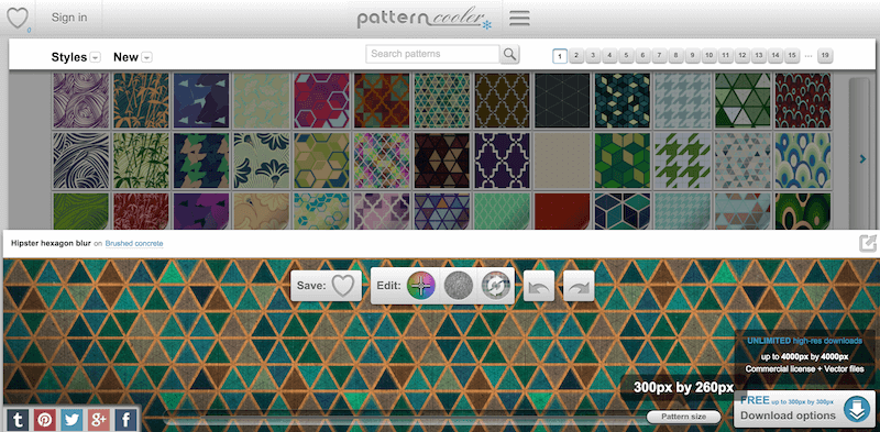Free Seamless Pattern Backgrounds Patterncooler.com