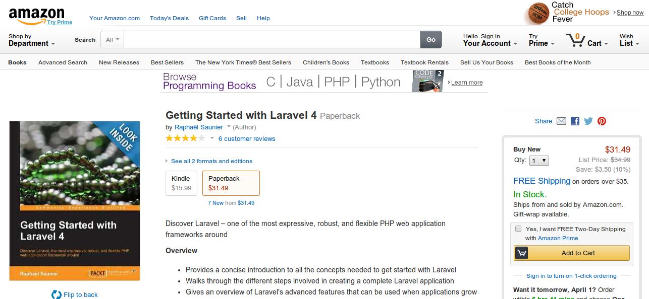 5 Books for Learning Laravel 4+
