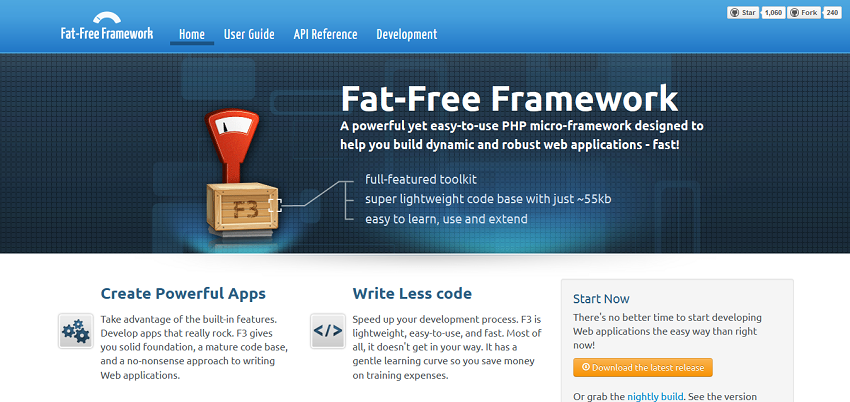 Home I Fat-Free Framework for PHP