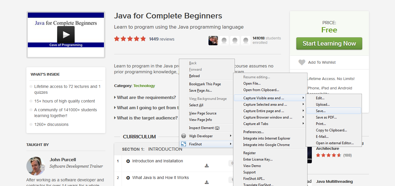 Java for Complete Beginners by John Purcell I Udemy