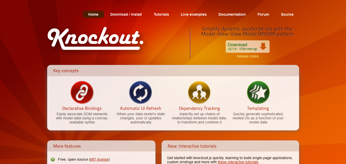 Knockout _ Home