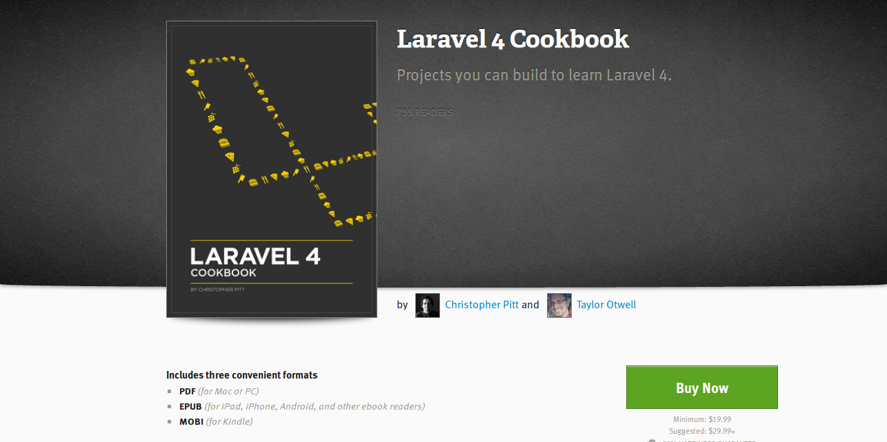 5 books for learning laravel 4