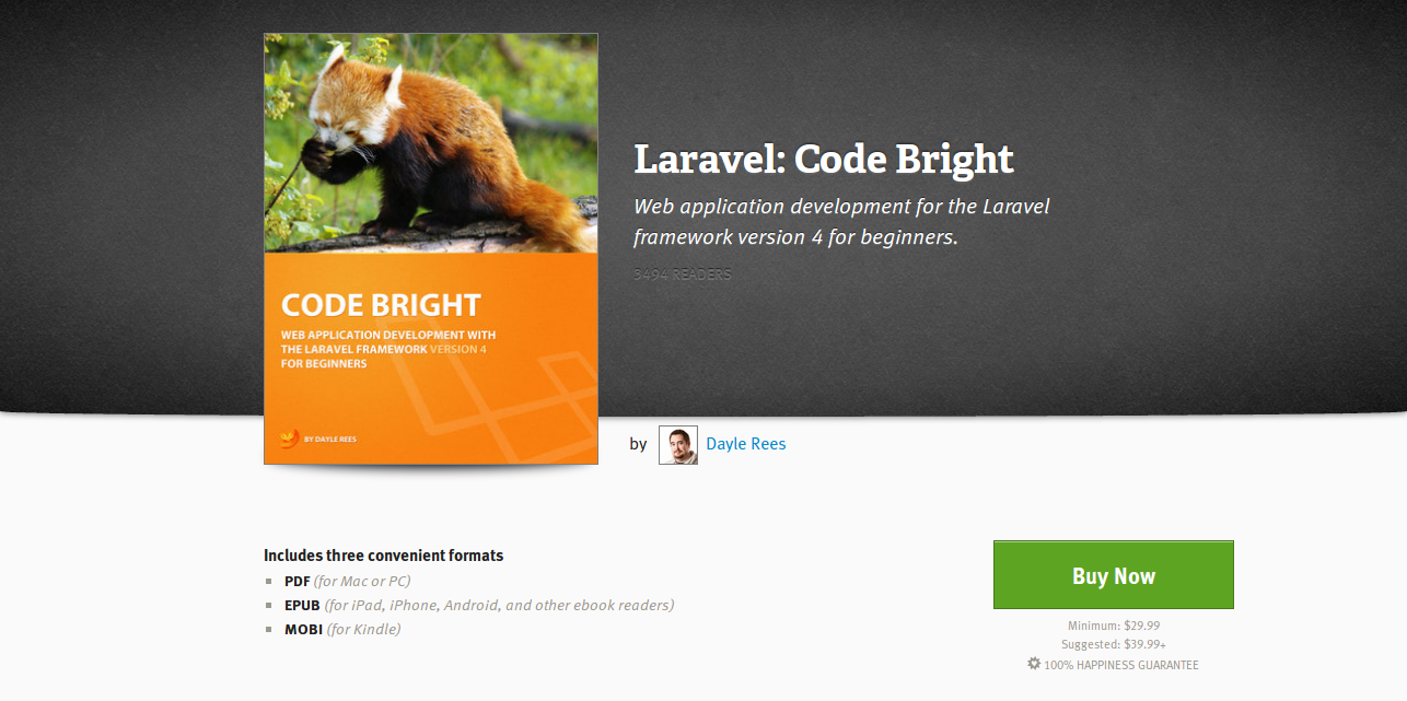 Laravel Code Bright by Dayle Rees Leanpub PDF iPad Kindle