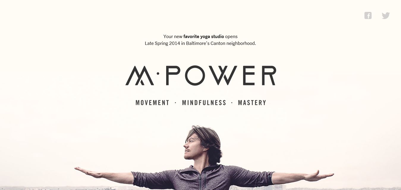 M·Power Yoga I Power Vinyasa Yoga I Baltimore, MD