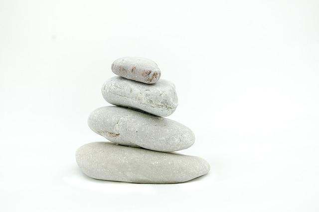 Meditation, Balance Stones