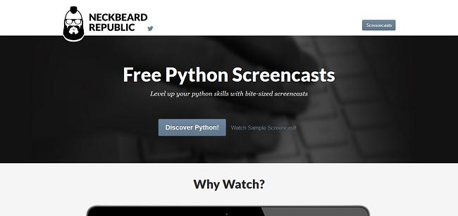Neckbeard Republic — bite-sized python screencasts