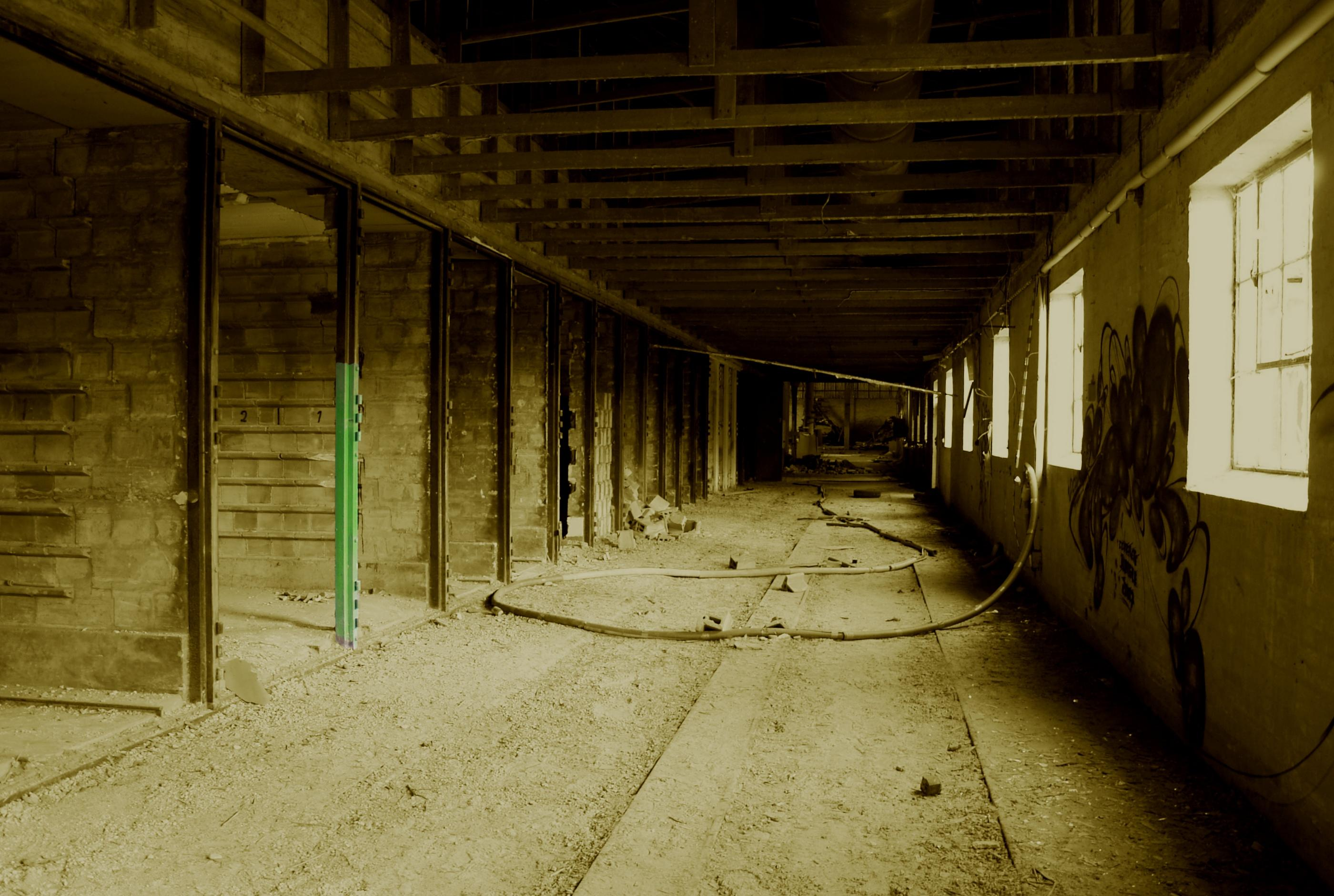 Old Factory Sepia