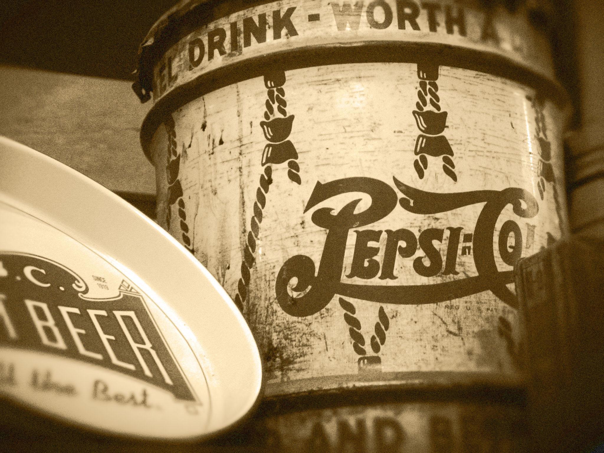 Pepsi Sepia
