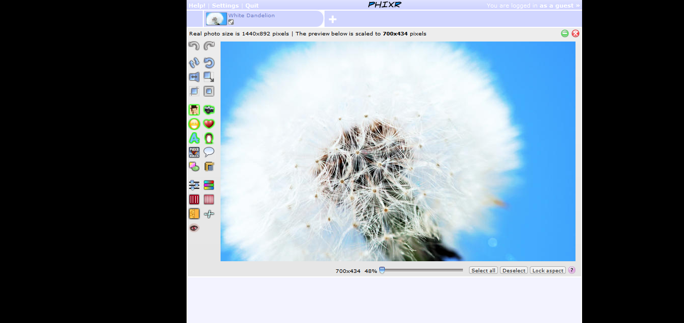 Phixr - Online Photo Editor [Editor]