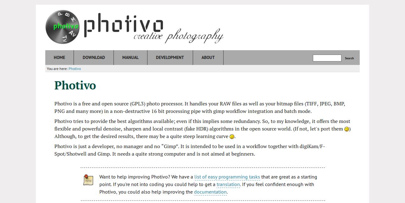 Photivo Photo Editor