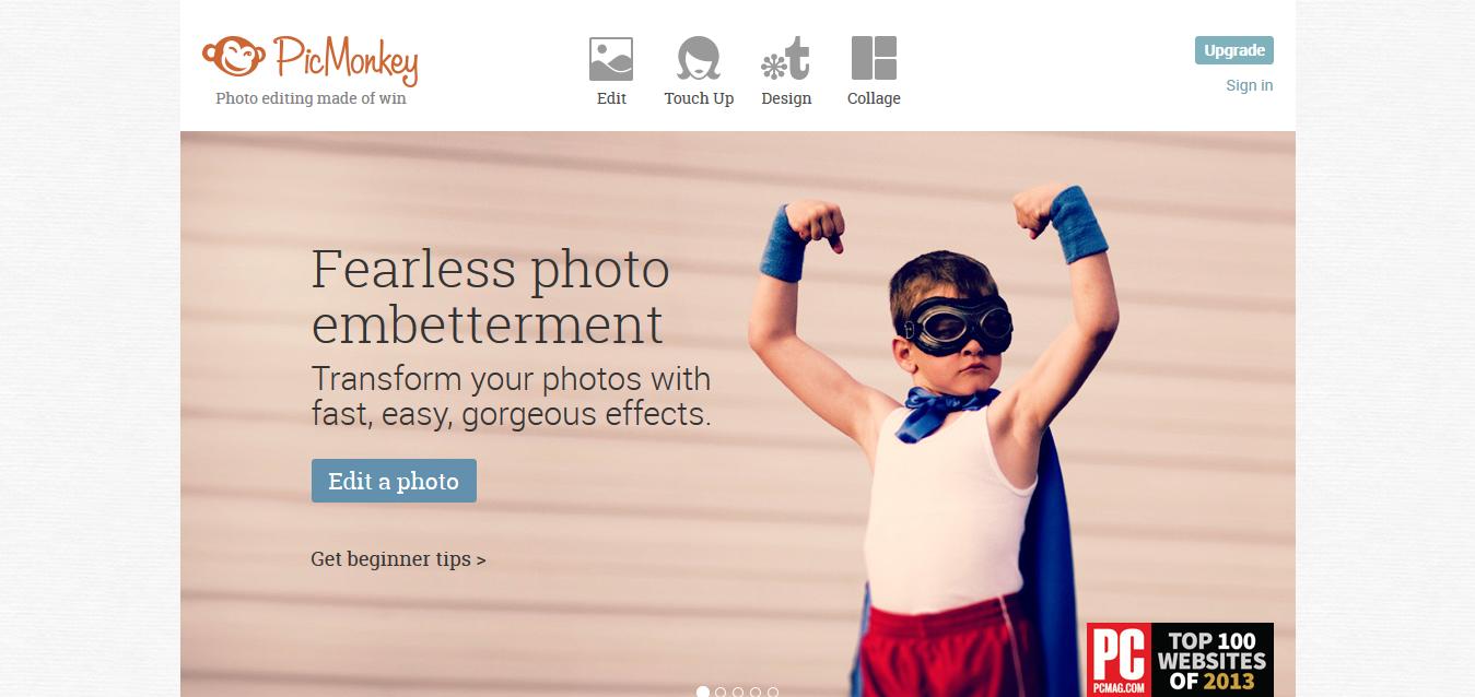 Photo editor I PicMonkey_ Free Online Photo Editing