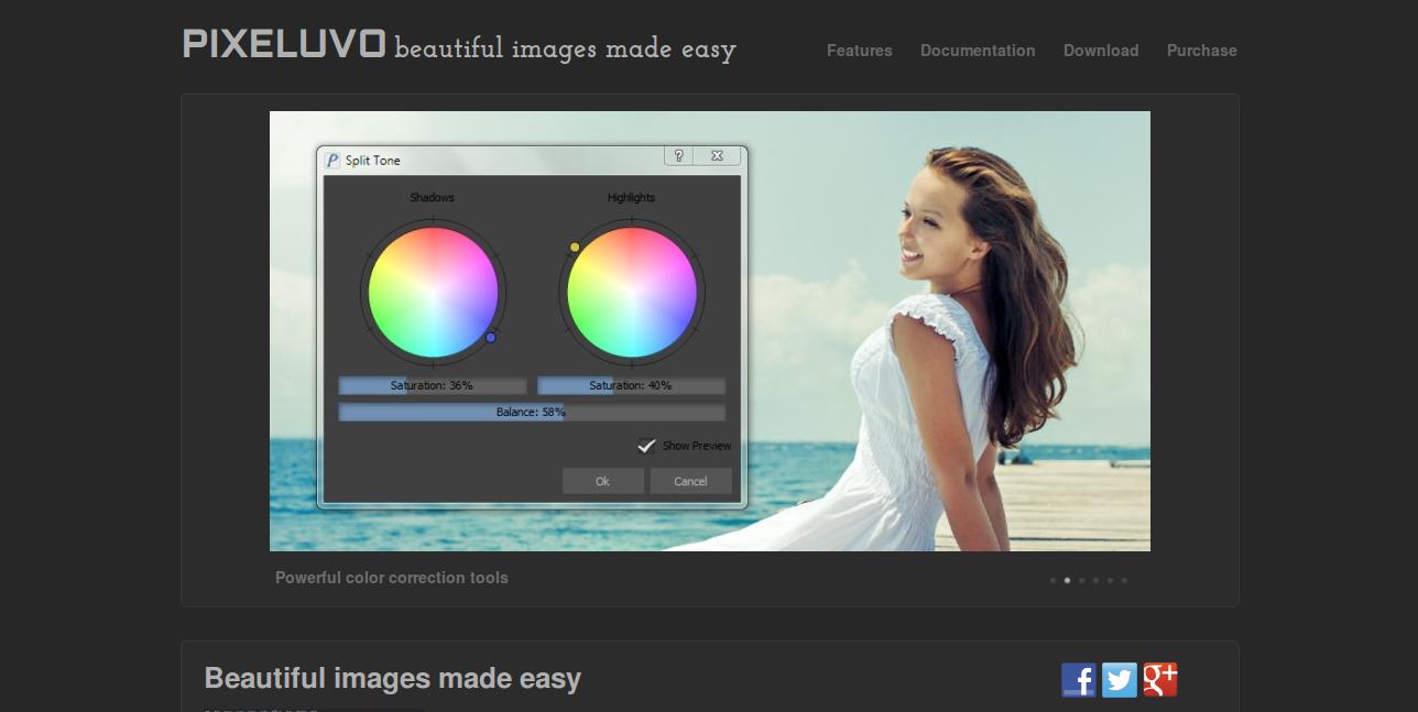 Pixeluvo Image Editor