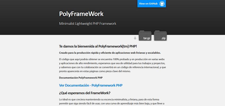 PolyFrameWork