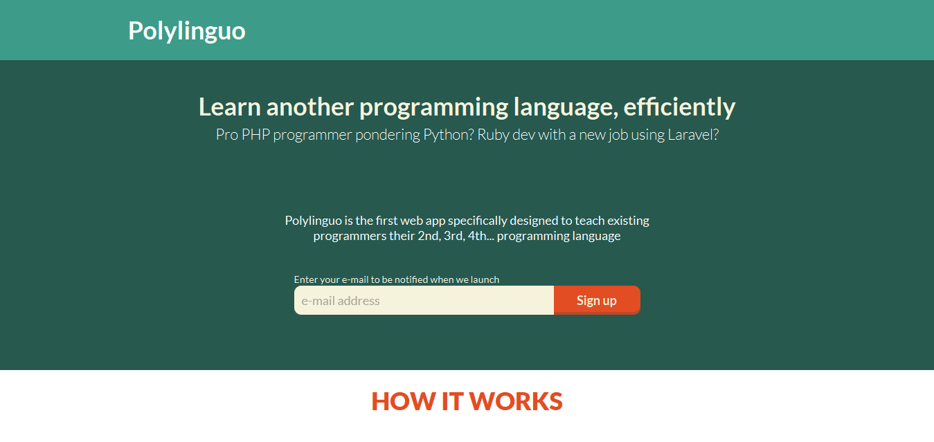 Polylinguo - Learn Another Programming Language