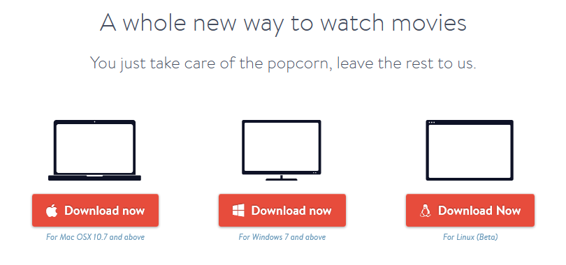 Popcorn Time! - Watch Torrent Movies & TV Shows Instantly