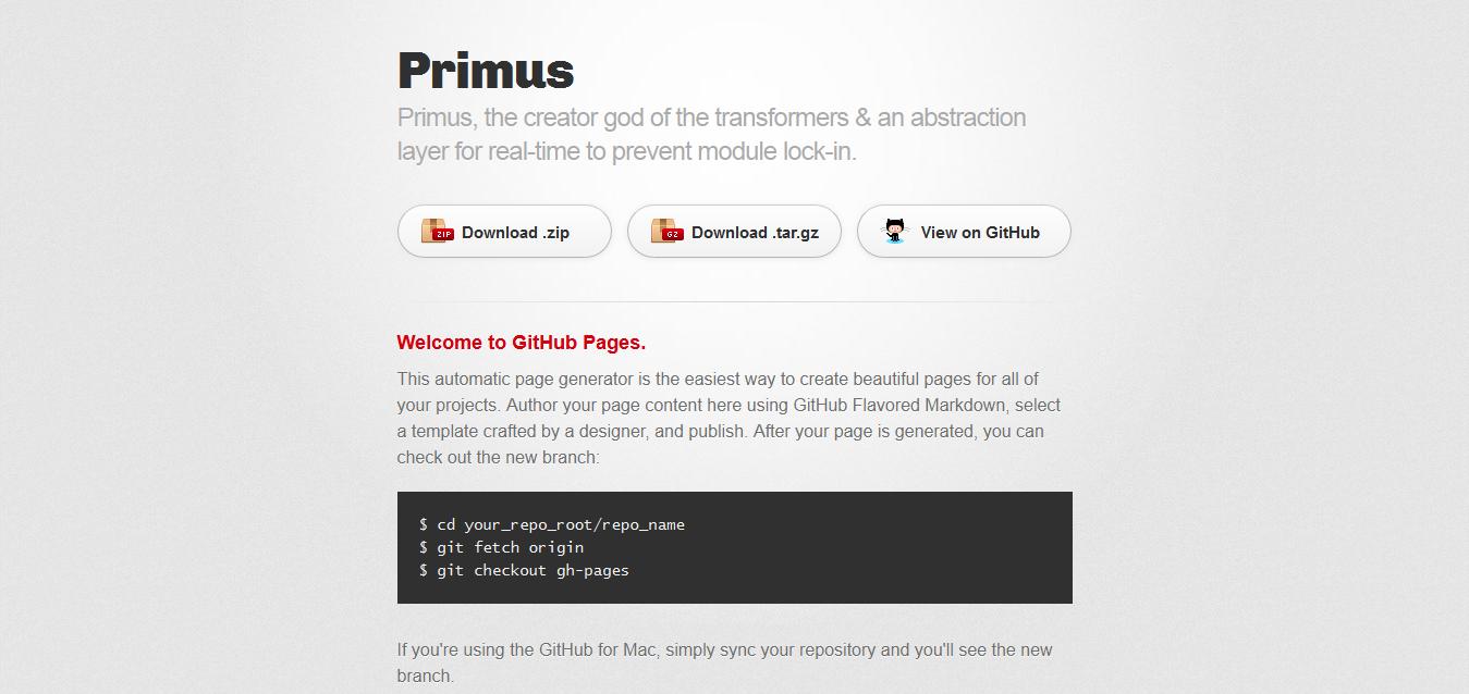 Primus by 3rd-Eden