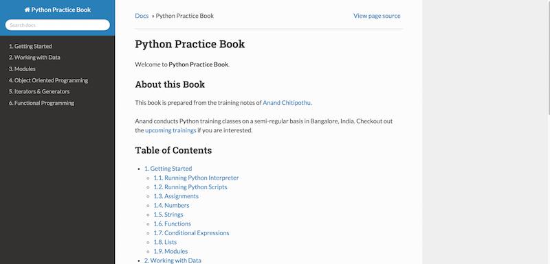 Python Practice Book — Python Practice Book