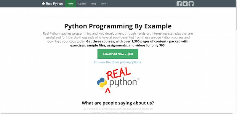 Real Python Real Python