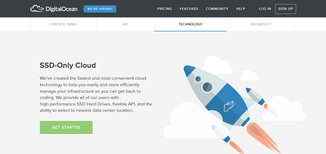 SSD Cloud Server, VPS Server, Simple Cloud Hosting I DigitalOcean