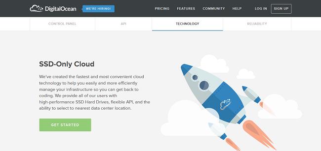 SSD Cloud Server, VPS Server, Simple Cloud Hosting I DigitalOcean