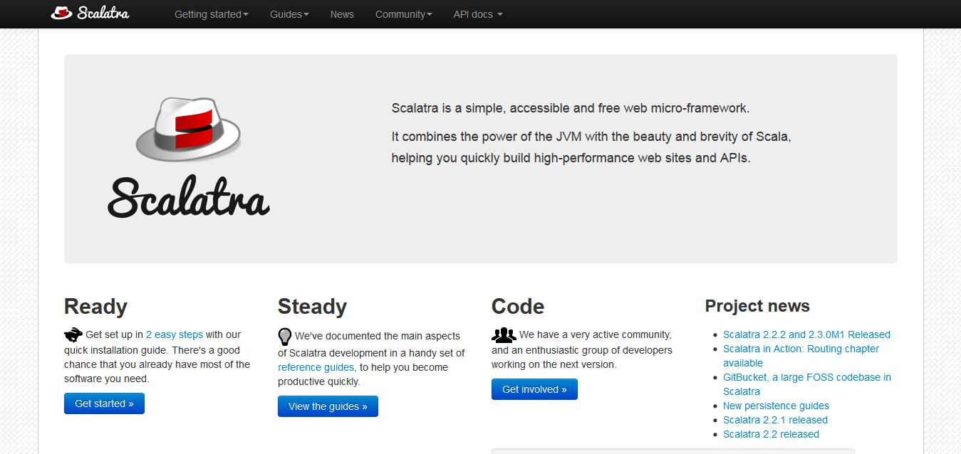Scalatra I A tiny, Sinatra-like web framework for Scala