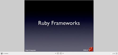 Sinatra Ruby Framework