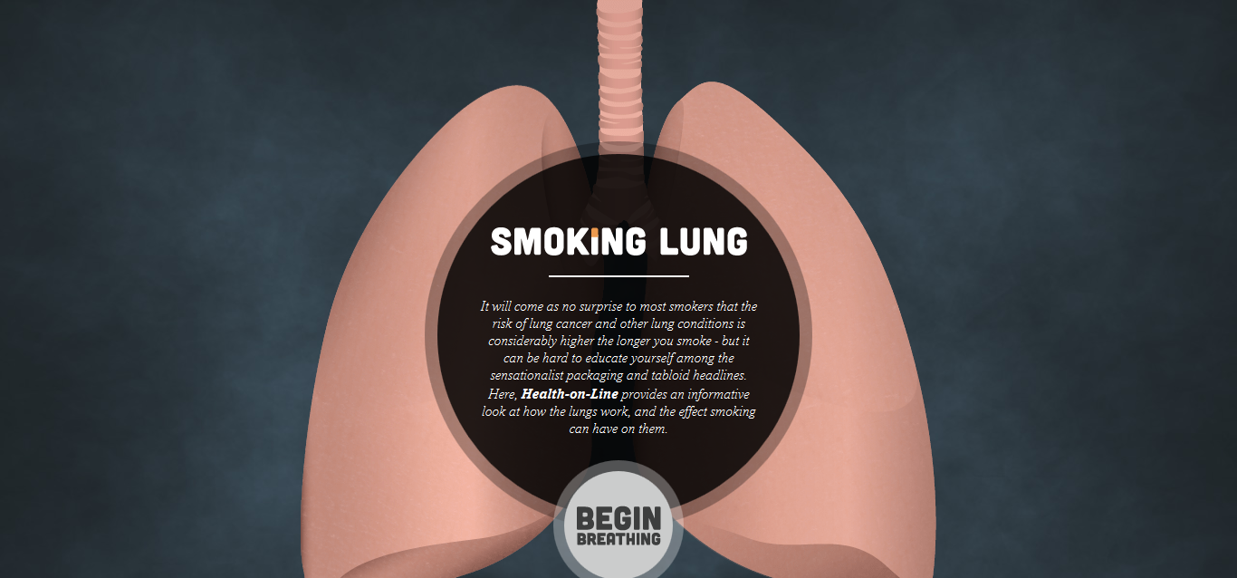 Smoking Lung - Health Online